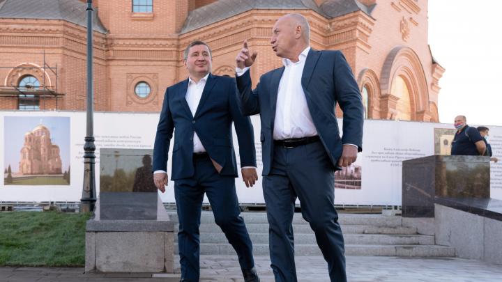 В Волгограде отменили торжественные открытия Александровского сада и памятников