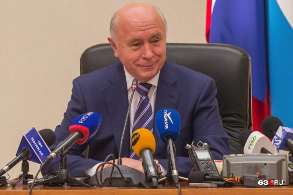 Николай Меркушкин был губернатором Самарской области с 12 мая 2012 года по 25 сентября 2017 года