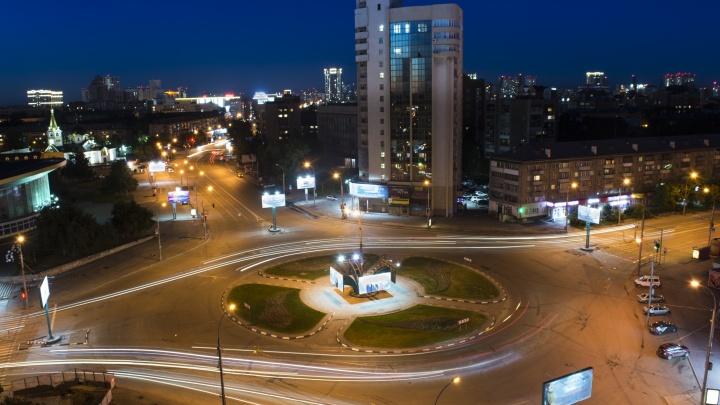 Начинающие фотографы выпустили ролик о ночном Новосибирске, созданный из десятков тысяч снимков