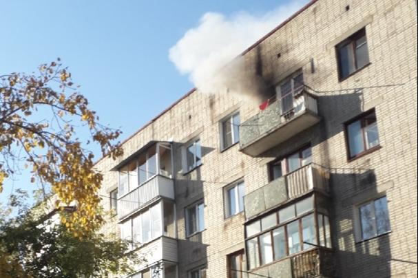 В пожаре на Забалуева погиб мужчина
