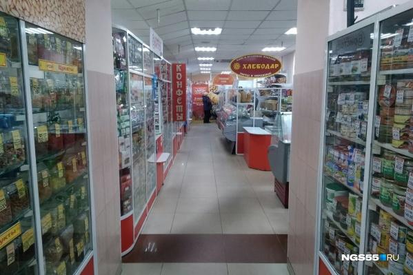 Продуктовые магазины работают в прежнем режиме
