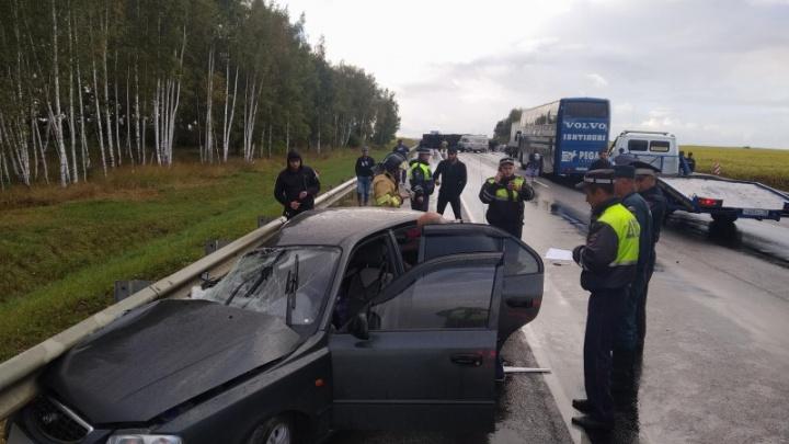 Пенсионер из Волгограда опрокинул под Рязанью КАМАЗ с арбузами