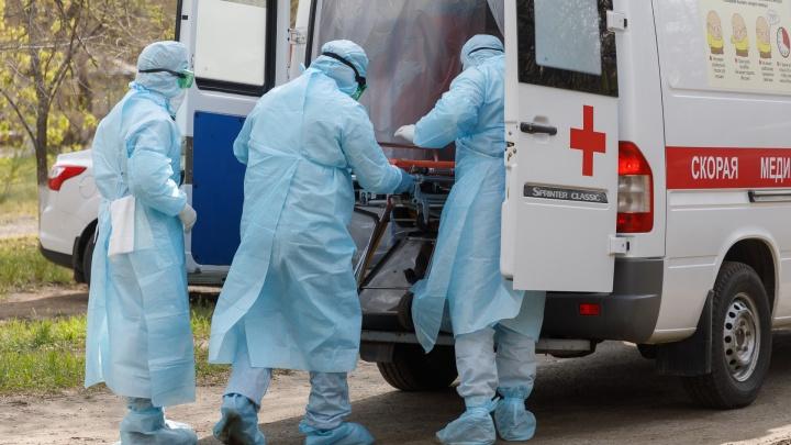 Число заразившихся коронавирусом в Челябинской области за сутки выросло почти на сотню