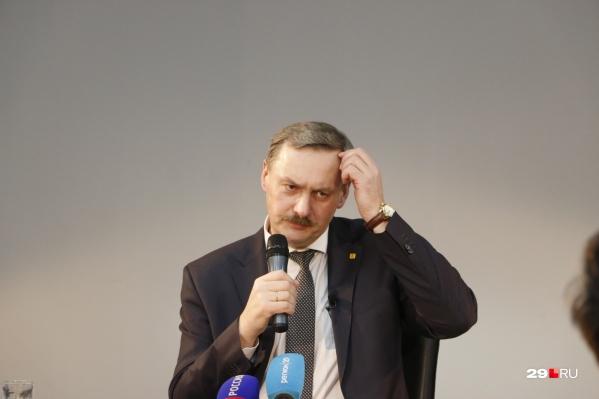 Игорь Годзиш руководил Архангельском с 2015 года