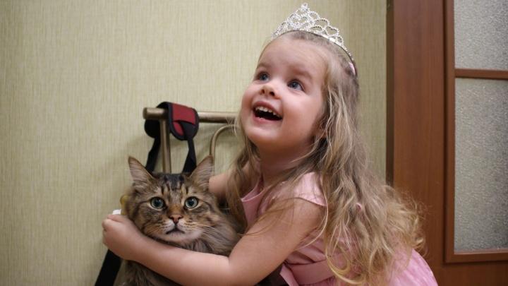 Трехлетняя волгоградка претендует на титул «Самой красивой девочки России»