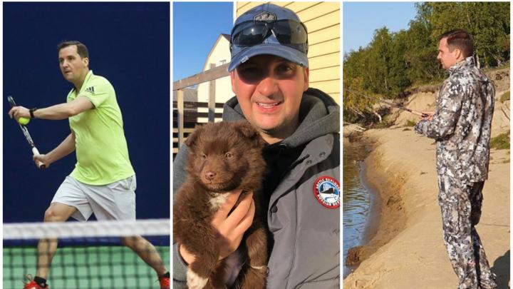 Играет в теннис и учится у Путина: несколько фактов про врио губернатора Поморья по 10 фотопостам