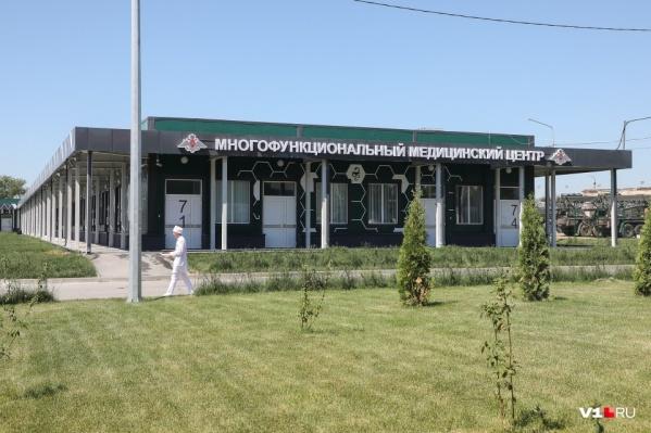 Строительство госпиталя на 100 пациентов началось еще в марте