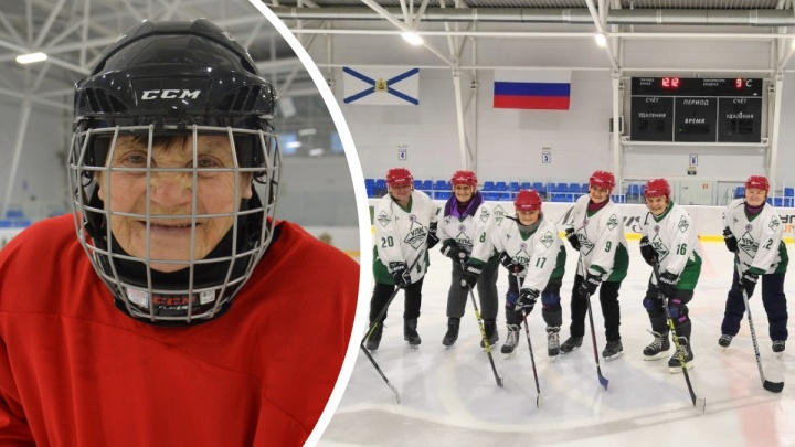 Пенсионерка из Устьян сыграет в хоккей с Владимиром Путиным