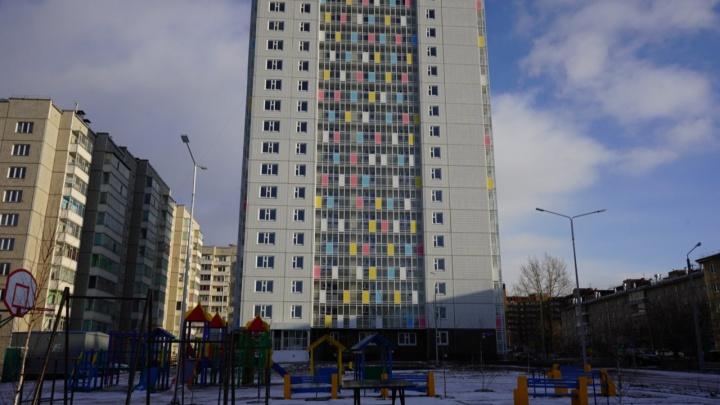 В Красноярске построили дом для переселенцев из аварийного жилья
