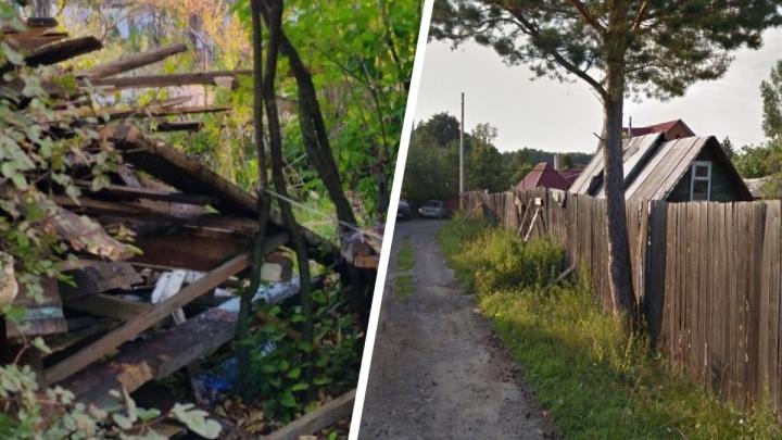 «Бабушка потратила пенсию на теплицу, она вся в слезах»: на Уралмаше сносят сады, чтобы построить коттеджи