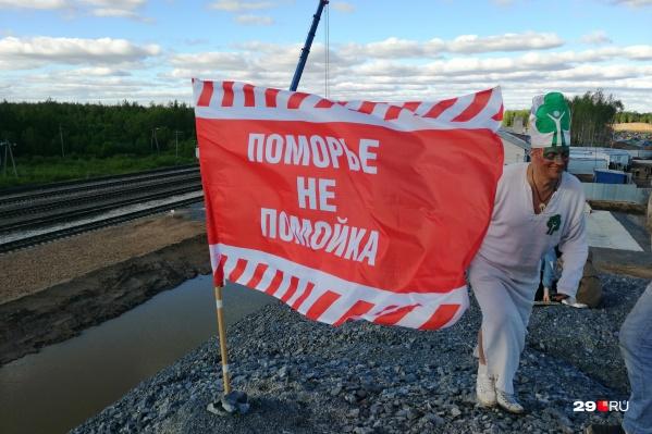 Древарх находится на Украине, где ждет получения статуса беженца