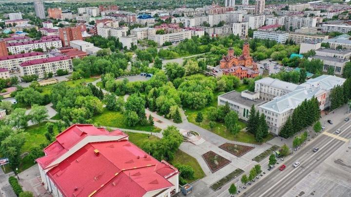 Андрей Потапов и Вадим Шумков поздравили Курган с Днём города