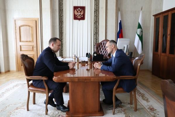 Вадим Шумков отметил, что без федеральных денег региону не удастся построить новые сельские школы