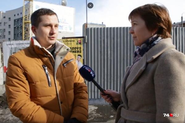 Александр Егоров перебрался из Москвы в Челябинск недавно, но со многими проблемами города уже хорошо знаком