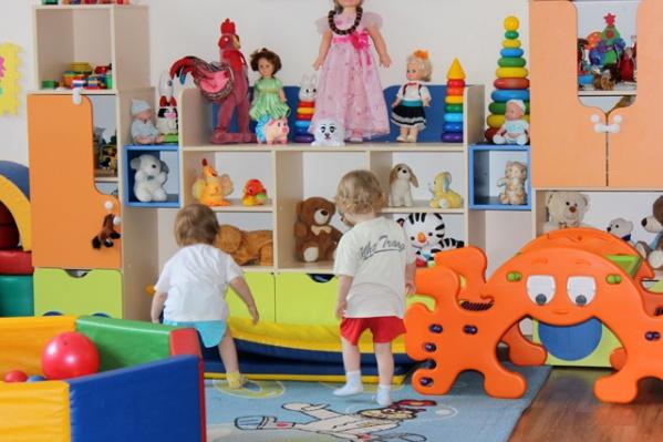 В доме малютки живут малыши до четырёх лет