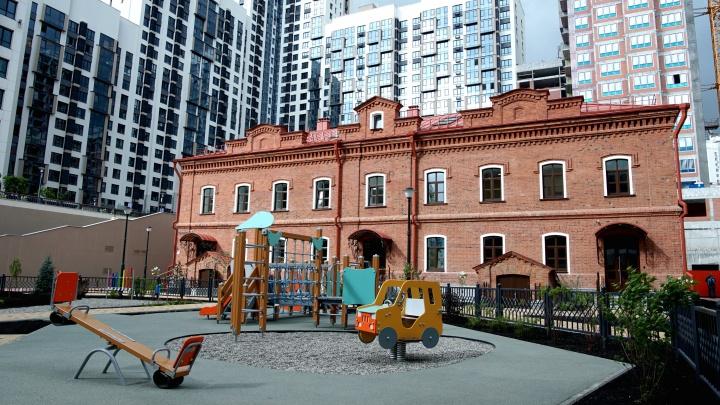 В Екатеринбурге отреставрировали бывшую лабораторию Симановской мельницы: сравниваем фото до и после