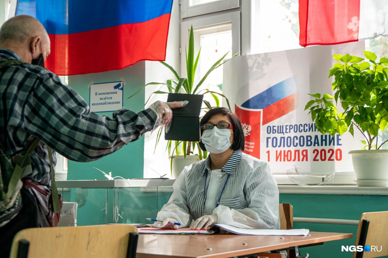 Паспортные данные избирателей строго проверяются