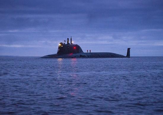 В Белом море провели испытания атомной подводной лодки «Казань»