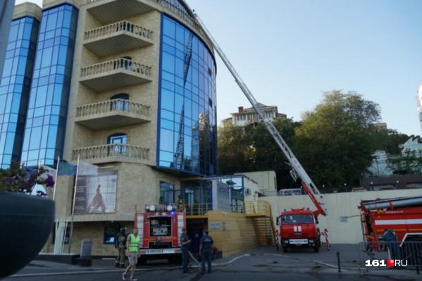 Пожарные прибыли на место в 17:02