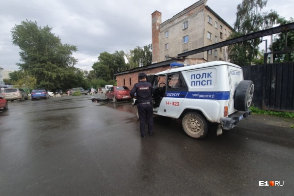 Место, где Мищенко забил воришку
