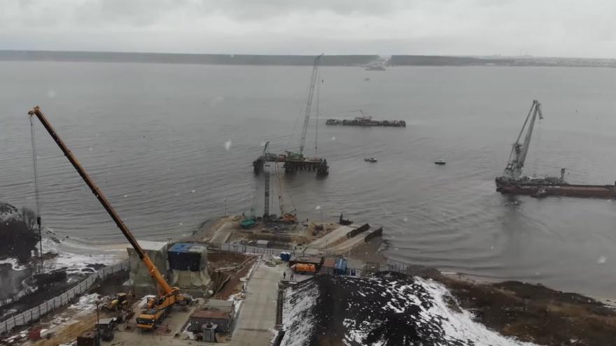 Мост у Климовки начали возводить без разрешения на строительство