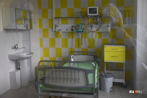 Больше всего коек занято в 40-й больнице