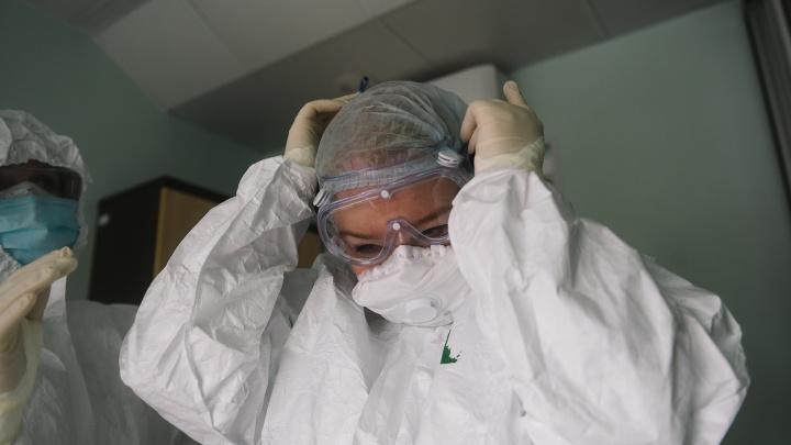 В Самарской области коронавирусом заболели 1069 медиков