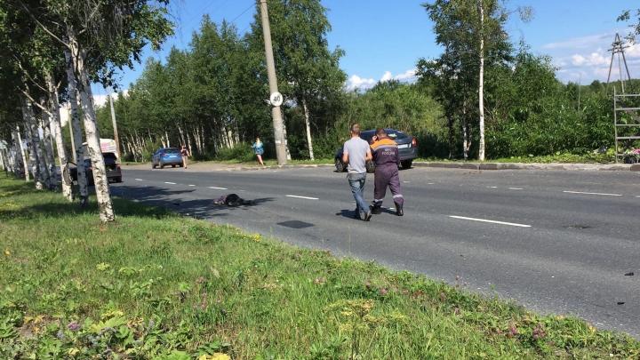 На Маймаксанском шоссе насмерть сбили пешехода
