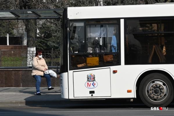 Количество транспорта в Ростове на время самоизоляции сократят больше чем в половину