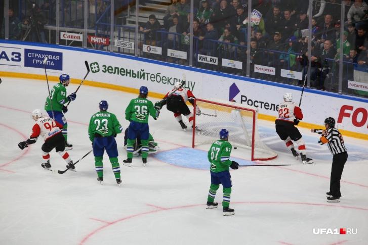 Легендарный гол Алексея Бондарева в 6-м матче против «Салавата Юлаева»