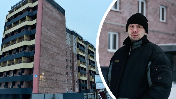 «Хотим праздновать здесь Новый год»: в Архангельске достроили дом для переселенцев из авариек