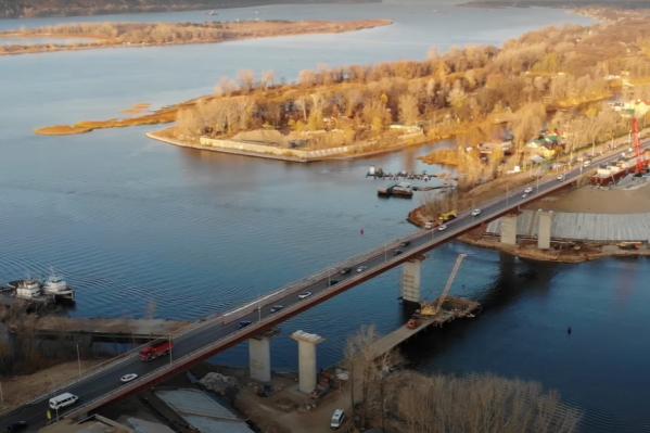 Новый мост начали строить в декабре 2019 года