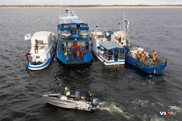 Участники экспедиции подтвердили, что на дне Волги покоится тот самый пароход