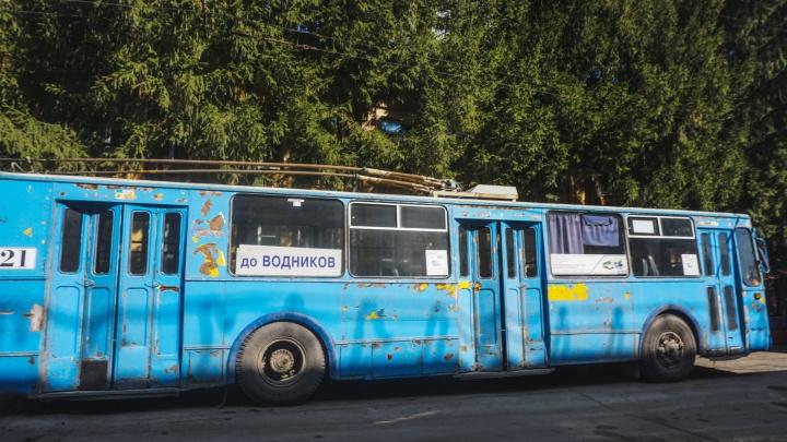 В Омске планируют списать троллейбусы старше 15 лет