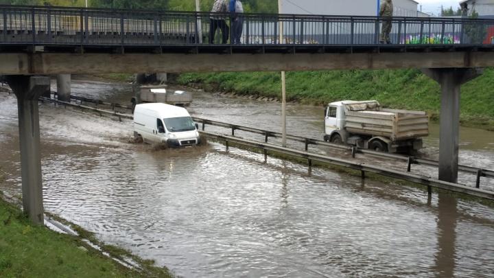Прокуратура обвинила мэрию в том, что последствия потопа на Шефской устраняли слишком долго