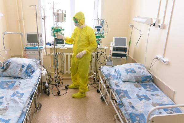 В Шадринской больнице скорой медицинской помощи у пациента нашли коронавирусную инфекцию