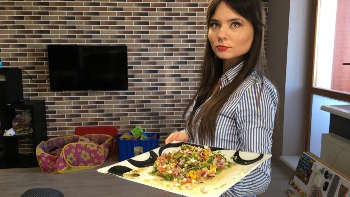 Готовим на самоизоляции: запеченные овощи в салате «Мангал»