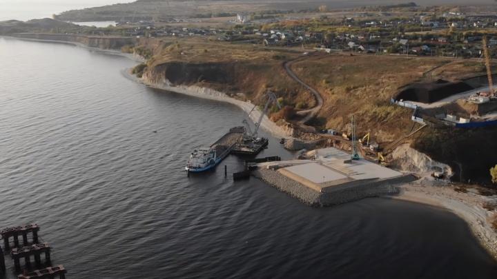 К новому мосту через Волгу у Климовки подведут запасные дороги