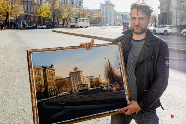 Городские пейзажи, которые пишет Михаил Воронов-Кушаковский, можно принять за фотографии