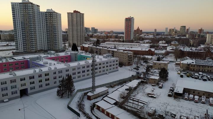 Администрация Перми выдала разрешение на эксплуатацию школы в Красных казармах