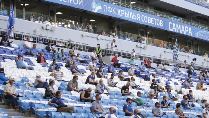 «Крылья Советов» оштрафовали за нарушение карантина во время матча с «Ахматом»