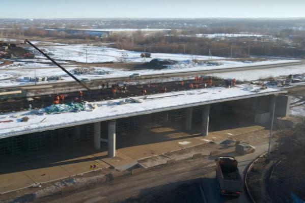 Работы по обустройству второй очереди Самарского (Фрунзенского) моста начали в 2019 году