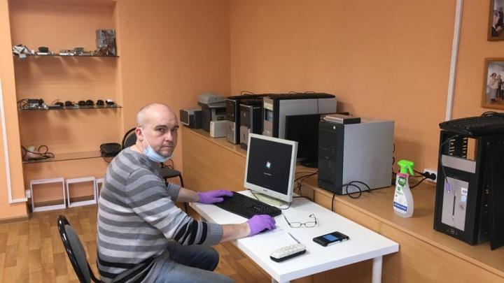 Папы в деле: нижегородцы начали собирать компьютеры для учебы детям из нуждающихся семей