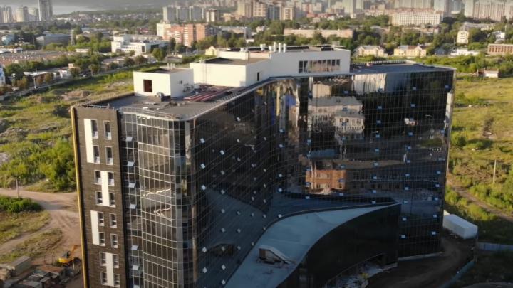 Хай-тек и заброшки: самарский видеоблогер показал окрестности IT-парка на Московском шоссе с высоты