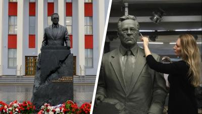 «Это был нестандартный заказ»: кто и как сделал для Архангельска памятник академику Лавёрову