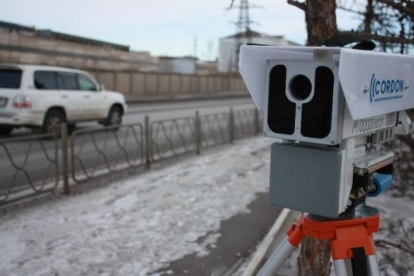 Камеры будут фиксировать среднюю скорость на участке дороги в несколько километров