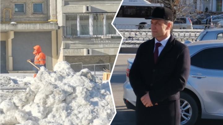 Игра сугробов: спикер гордумы вступился за главу района, которому мэр грозил отставкой из-за уборки снега