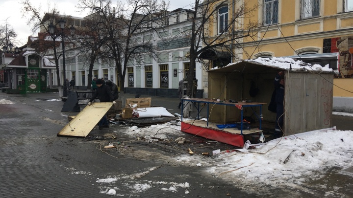 Вывески магазинов и кафе на Кировке оформят по опыту «Белого рынка»