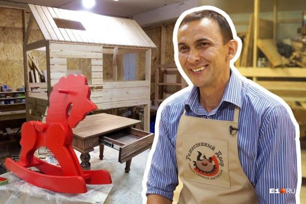Коворкинг Дмитрия работает уже четыре года