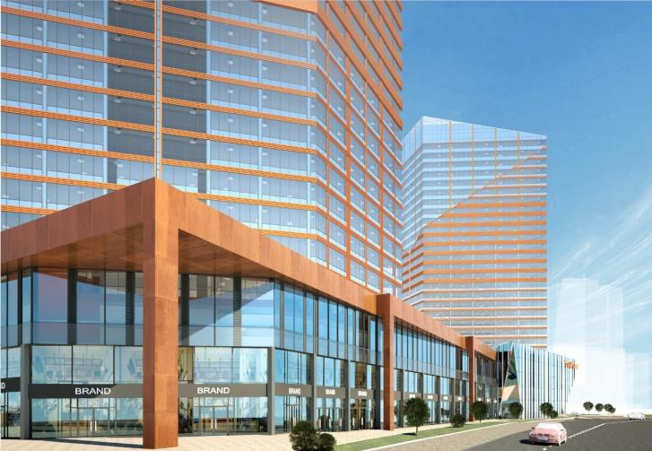 «Атомстройкомплекс» стал генеральным подрядчиком и соинвестором строительства многофункционального комплекса на Жукова